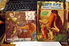 Ice Age 5-pc. set: VHS movie, magnet, coloring book, Animals of Long Ago +1 book