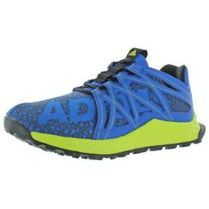 Adidas Boys Vigor Bounce J Blue Running Shoes 6.5 Medium (D) Big Kid BHFO 1133