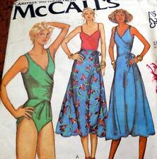*LOVELY VTG 1970s BODYSUIT & SKIRT Sewing Pattern 6/30.5