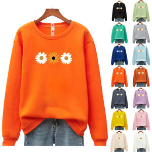 Fashion Women Tops Summer Simple Casual Sweaters Loose Fit Pullover Hoodie