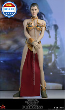 1/6 scale Star Wars Princess Leia Head Sculpt Organa Slave Outfit Set *US STOCK*