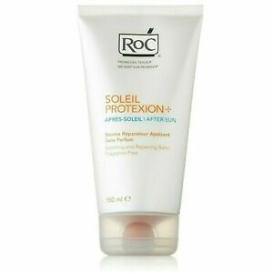 3 X150ML ROC Soleil Protexion+ After-Sun Soothing & Repairing Balm