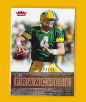 28053 BRETT FAVRE 2006 FLEER GREEN BAY PACKERS THE FRANCHISE CARD 🏈