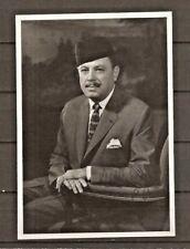 More details for pakistan president ayub khan photo with original autograph (6 scans).
