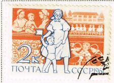 Russia Soviet Madicine Doctors Nurses and Children stamp 1961
