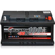 Starterbatterie 12 V 100 Ah 870 A/EN BlackMax 100 ers. 90 92 95  97 105 Ah