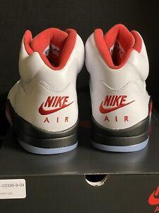 Nike Air Jordan 5 V Retro OG Fire Red 2020 size 11