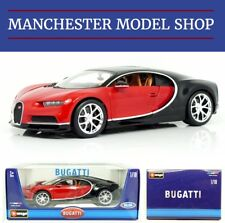 Bburago 11040R 1:18 Bugatti Chiron red & black NEW BOXED