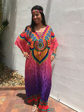 Embellished Kaftans Viscose O/S 12-14-16-18-20-22 Plus Size Tall Kaftan Pink