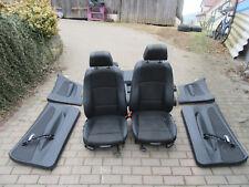 SITZAUSSTATTUNG Teilleder Original + BMW 1er E82 Coupe + M-Paket Sportsitze
