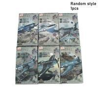 4D Model 1:48 Fighter Models Military Assemble Kit Color Random T5C1