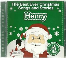 HENRY - THE BEST EVER CHRISTMAS SONGS & STORIES PERSONALISED CD