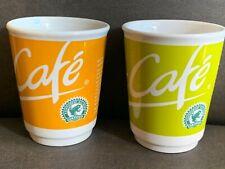 McDonald's MC CAFE Tassen Kaffeetassen  Becher Cups 2 Stück  2008