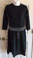 MODEST SEA Sophie Black/Zebra Print 3/4 Sleeve Swim Dress Burkini M