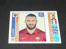 405 DE ROSSI ITALIA AS ROMA PANINI FOOTBALL UEFA CHAMPIONS LEAGUE 2014-2015