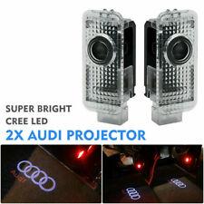 1 Setx2 LED Willkommen Laser Projektor Einstiegsbeleuchtung Für Audi 2xAUDI LOGO