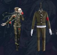 Anime Danganronpa V3 Korekiyo Shinguji Cosplay Costume School Uniform