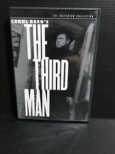 OOP ~ The Third Man (DVD, 1949/1999, FS, Booklet, Criterion Collection #64)