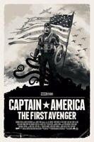 "Gabz ""Captain America"" First Avenger Courage VARIANT B&W *IN HAND* xx/100"