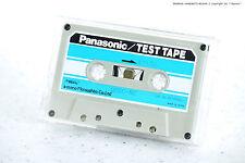 Panasonic/TECHNICS/National qzzc-RC/qzzcrc test Tape per cassette deck's NOS!!!