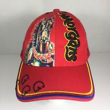 MORGAN HORSE Cap Hat 2018 Grand Nationals World Championships Embroidered Red