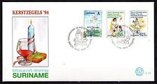 Suriname - 1994 Christmas - Mi. 1497-99 clean FDC