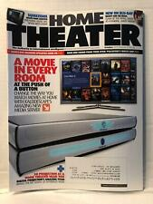 Home Theater Magazine A Movie In Every Room At The Push Of A Button Oct 2010