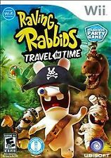 RAVING RABBIDS TRAVEL IN TIME Nintendo Wii Game