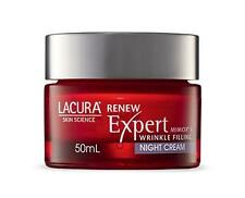 NEW! LACURA EXPERT ANTI-WRINKLE NIGHT CREAM WITH MIMOX: PREMIUM RANGE