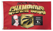 Toronto Raptors 2019 NBA CHAMPIONS Official Commemorative DELUXE FLAG Banner