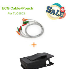 ECG Cable+Pouch +Belt For CONTEC ECG Holter TLC9803