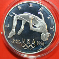 "USA-Amerika 1 Dollar Silber 1996 KM# 273.2 PP-Proof #F3159 ""Olympics Atlanta"""