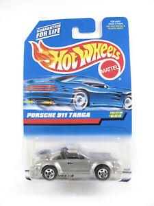 Hot Wheels 1998 - BLUE CARD COLLECTOR - PORSCHE 911 TARGA