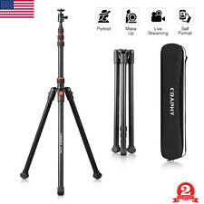 2M Foldable Studio Photography Flash Light Stand Adjustable Tripod Lighting Kit