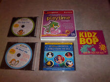 9 Children's Music CD's Babygenius Disney's Favorites My Busy Day All About Me