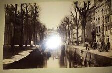 AMSTERDAM. HOLLANDE. 18 Photographies Vers 1880.