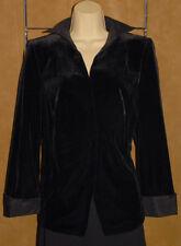 AKRIS - Classic Black - Velvet / Velour & Silk - Dressy Blazer / Jacket sz 14
