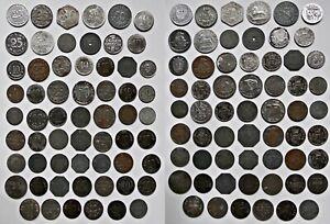 Großes Konvolut Notgeld / Notmünzen!!! 61 Stück