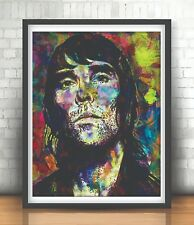 IAN BROWN STONE ROSES BASED POSTER  POP ART A3 SIZE - 29.7 x 42.0cm