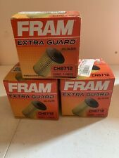 NEW Lot of 3 Fram CH8712 Oil Filter for Volvo vehicles