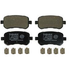 Disc Brake Pad Set Rear Federated D1021C