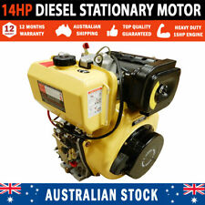 NEW 14 HP Diesel Stationary Motor Engine With Electric Start Pumps & Saw Benches
