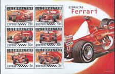 Gibraltar Scott #998a Ferrari - Stamp Souvenir Sheet - MNH