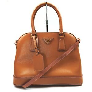 Prada Hand Bag  Pinks Patent Leather 1132295