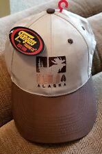 Brown & Tan Alaska, Moose Adjustable Hat From Tongass, New