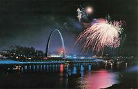 Postcard Gatewary Arch St Louis