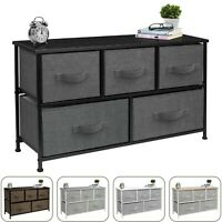 Sorbus Dresser with 5 Drawers, Furniture Storage Chest Unit for Bedroom, Office