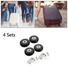 4 Stück Gepäck Koffer Ersatz Räder Achsen OD 50 mm Reparatur Mute Gummi Rollen