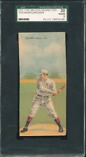 OPULENT SGC 2 GOOD T201 TRIS SPEAKER VINTAGE 1911 MECCA DOUBLE FOLDER GRADED GD