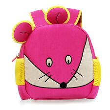 Fashion 3D Cartoon Cute Mouse Kids Backpack Kindergarten Enviromental Backpack